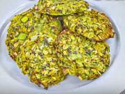 Zeleninové placky - recept na pečené zeleninové placky s chia semienkami
