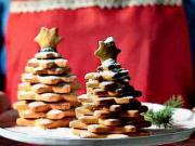 Medovníkové a linecké stromčeky - recept na linecké koláčiky