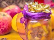 Domácí pečený čaj z 5 druhů ovoce - recept na pečený čaj s vánočním kořením