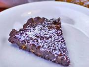 RAW kakaový koláč s kokosom - recept