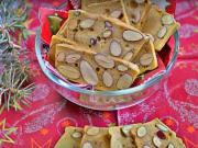 Mandlové cukroví - recept na křupavé mandlové oplatky