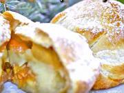 Pečené jablka v župane plnené citrusovo-orieškovou náplňou - recept