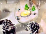 10 inšpirácii na zimné dekorácie - zimné interierové dekorácie