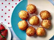 Tvarohové šišky - recept na tvarohové šišky s jahodovou penou