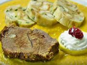 Sviečková na smotane s hovädzím mäsom - recept na sviečkovú omáčku
