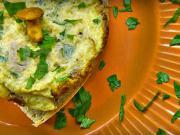 Vaječné lievance s kuriatkami a petržlenom - recept