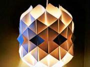 Lampa z papiera - ako si vyrobiť papierovú lampu