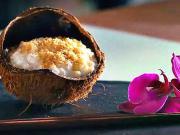 Mliečna ryža s kokosom - recept