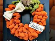 Jesenné inšpirácie - nápady na jesennú výzdobu