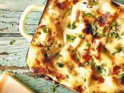 Lasagne s mletým mäsom a orechami - recept