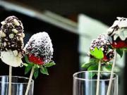 Ovoce v čokoládě - recept