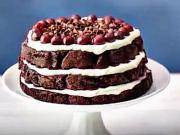 Smotanovo-višňová torta - recept