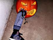 Halloweenska tekvica - Vyrezávanie halloweenskej tekvice - ako vyrezať tekvicu na Halloween