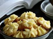 Maslové koláčiky - recept na maslové cookies