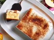 Jablkovo - smotanový koláč - recept