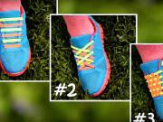 Viazanie 2-farebných šnúrok - 3 spôsoby