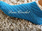 Dámske háčkované ponožky