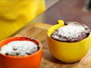 Čokoládový koláč z mikrovlnky - recept