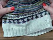 Pletenie čiapky (1.časť) - ako si upliesť čiapku (1/2)