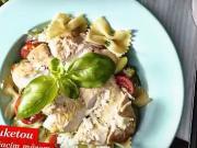 Cestoviny s cuketou a morčací mäsom - recept