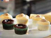 Muffiny s marcipánom a višňami - recept