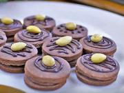 Kakaový koláč s čokoládou a mandľami - recept