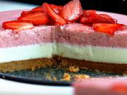 Jahodová torta s bielou čokoládou - recept