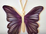 Motýl quilling metodou