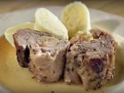 Kačica plnená kyslou kapustou s knedlíkom - recept