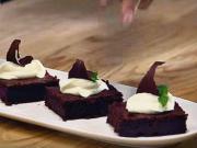 Cviklové brownies - recept