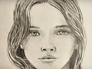 Ako sa kreslí tvár - kreslená tvár ženy