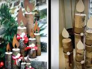 Vianočné ozdoby  z dreva - drevené dekorácie