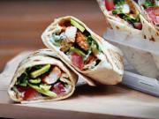 Tortilla s kuracím mäsom a avokádom - recept
