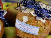 Jablečná směs na štrúdl - recept na zavařené jablka