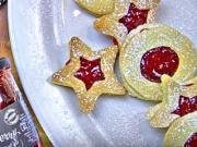 Linecké pečivo - recept na linecké pečivo s marmeládou