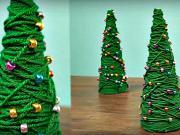 Mini vianočný stromček - 2 návody na mini vianočný stromček