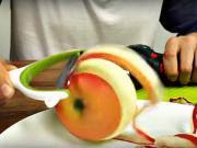 Rýchle lúpanie jablk - ako rýchlo ošúpať jablko