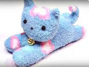 Mačička z ponožky