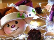 Vianoční panáčikovia - vianočné ozdoby