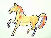 Koník - ako sa kreslí kôň