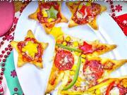 Vianočná pizza - recept na vykrajovanú pizzu s prísadami