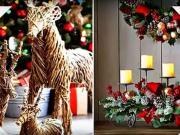 Vianočná výzdoba 10 - inšpirácie na vianočné ozdoby