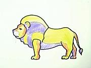 Lev - ako sa kreslí lev