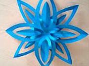Hviezda z papiera - 3D papierová hviezda