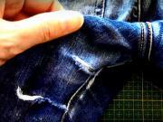Záplata na nohavice - ako zašiť dieru na nohaviciach