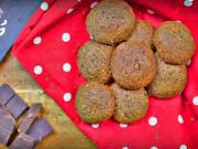 Čokoládovo - ořechové cukroví se skořicí - recept