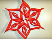 Hviezda z papiera - papierová hviezda