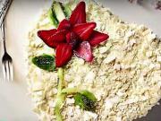 Smotanová torta - recept na smostanovú tortu v tvare srdca