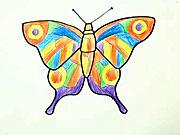 Motýľ - ako sa kresli motýľ