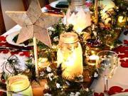 Inšpirácie na slávnostné stolovanie - Vianočná výzdoba 31